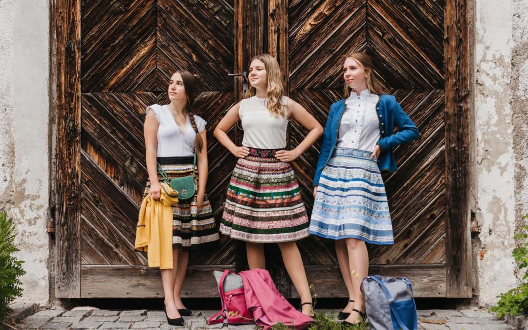 Fotoshooting Lena Hoschek Kollektion